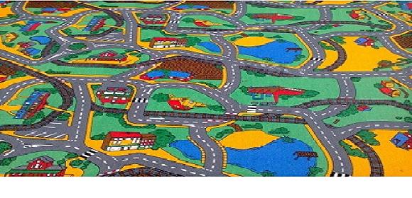 Детски килими на пътища