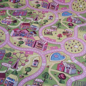 Детски килим Сладък град 150-200 см от фирма Мертекс-София