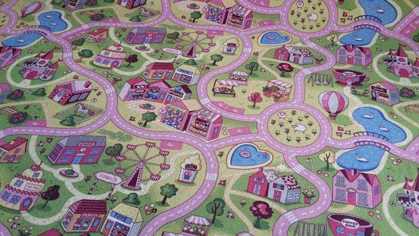 Детски килим Сладък град 200-250 см от фирма Мертекс-София
