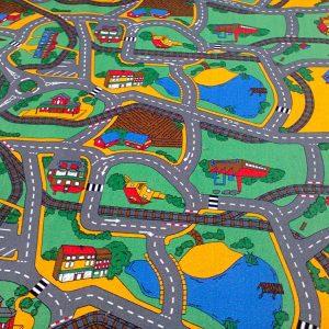 Детски килим на пътища City 200-250 см от Мертекс-София