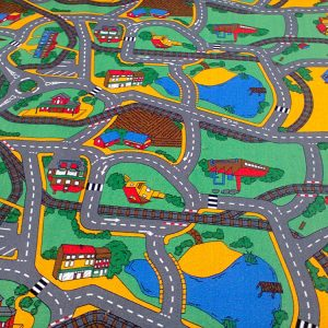 Детски килим на пътища City 300-400 см от Мертекс-София