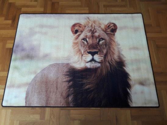 Мокетен килим Цар Лъв-чудесно допълнение към интериора на дома